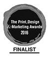 The print design marketing awards 2016 finalist